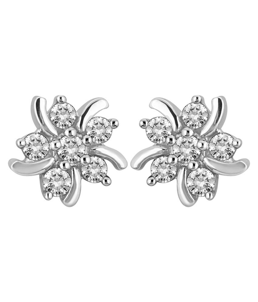 Myzevar 18K Gold Diamond Studs