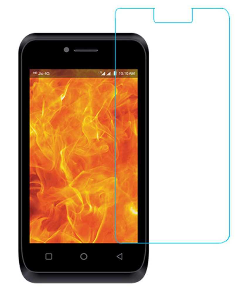 LYF Flame 6 Tempered Glass Screen Guard By Glasscandy