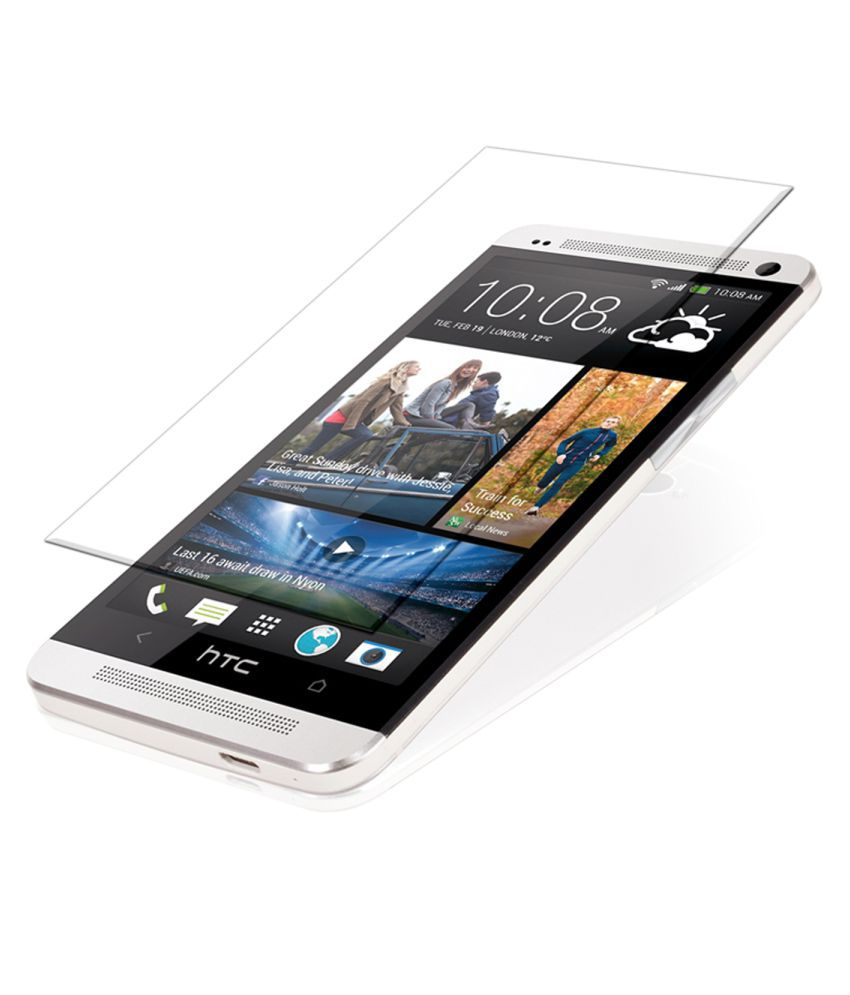 HTC One M7 Tempered Glass Screen Guard By Glasscandy