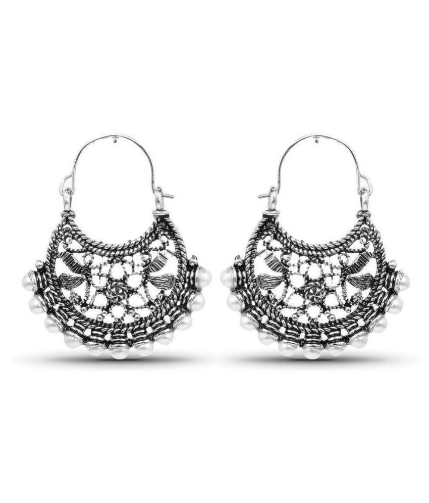 Johareez Pearl Studded Chandeliers