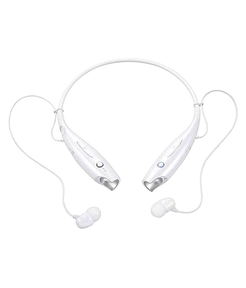 Akira Cloud Swift Wireless Bluetooth Headphone White