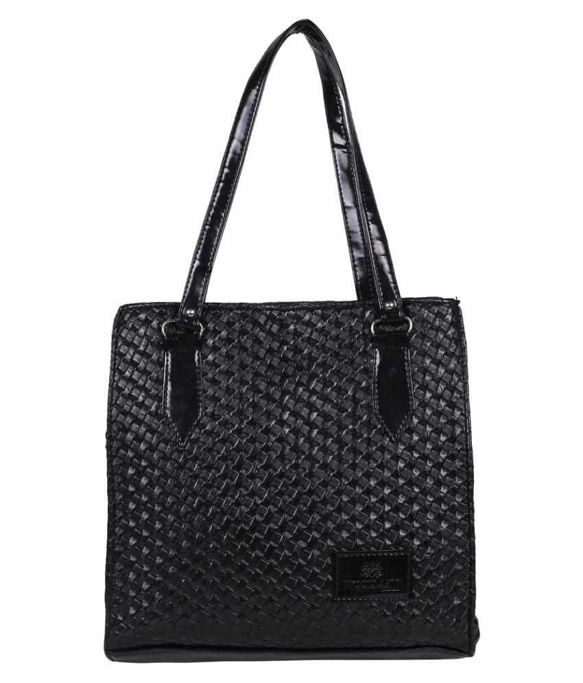 City Walk Black Non Leather Shoulder Bag