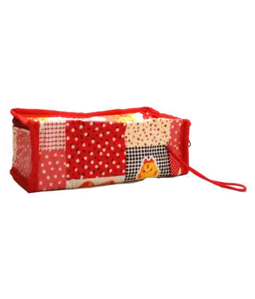 Navigator Red Travel Kit Bag