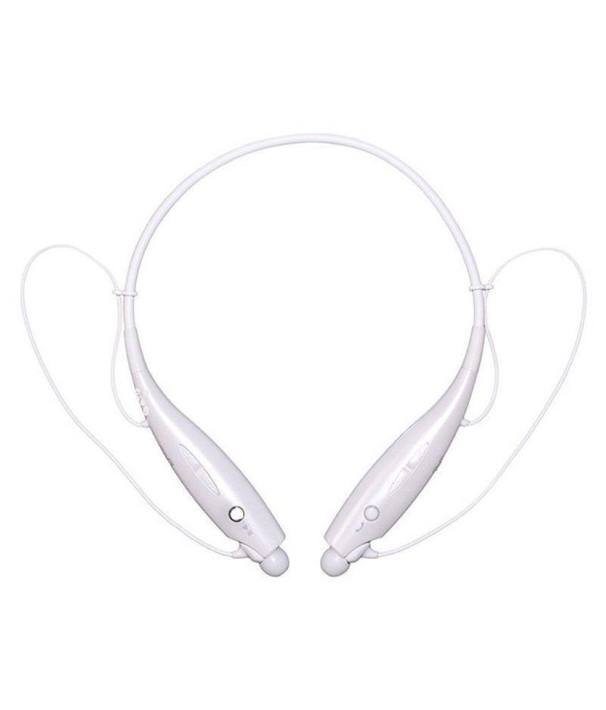 Jikra Wireless Bluetooth Headphone White