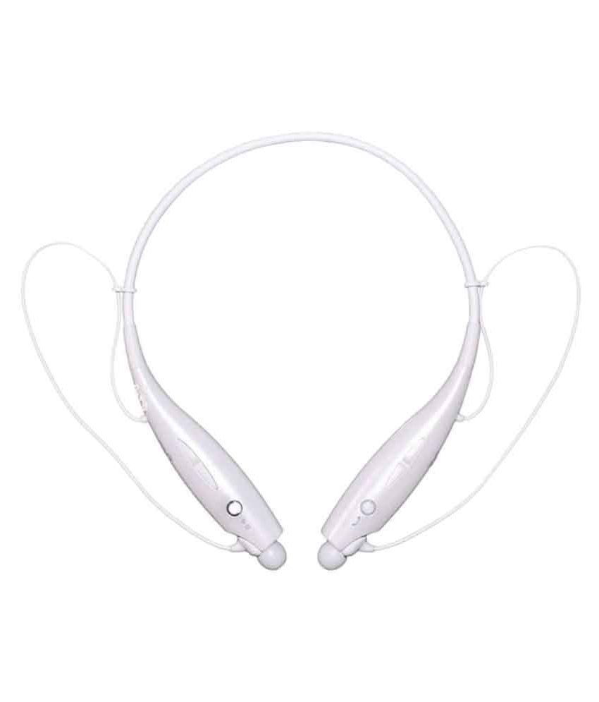 SYL Wired Bluetooth Headphone White