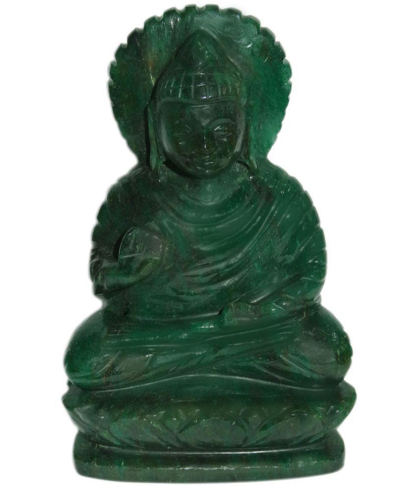 Traditional Villa Buddha Marble Idol