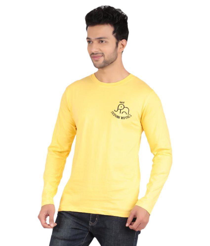 Indian Royals Yellow Round T-Shirt