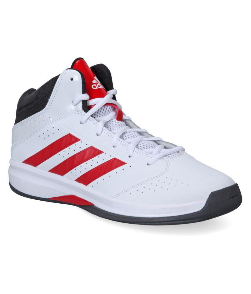 e9e14a7b26fc Adidas Isolation Ii White Basketball Shoes - Buy Adidas Isolation Ii White  Basketball Shoes Online at Best Prices in India on Snapdeal