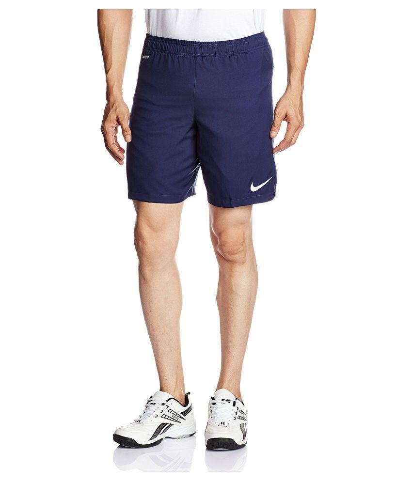 Nike Navy Polyester Short