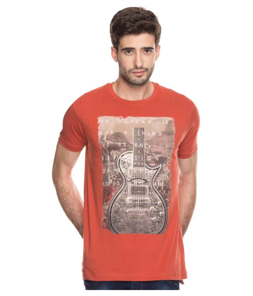 Status Quo Orange Round T-Shirt