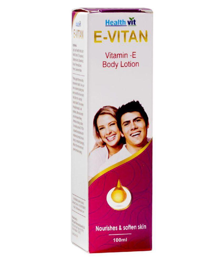 Healthvit E-Vitan Vitamin E Lotion 100ml