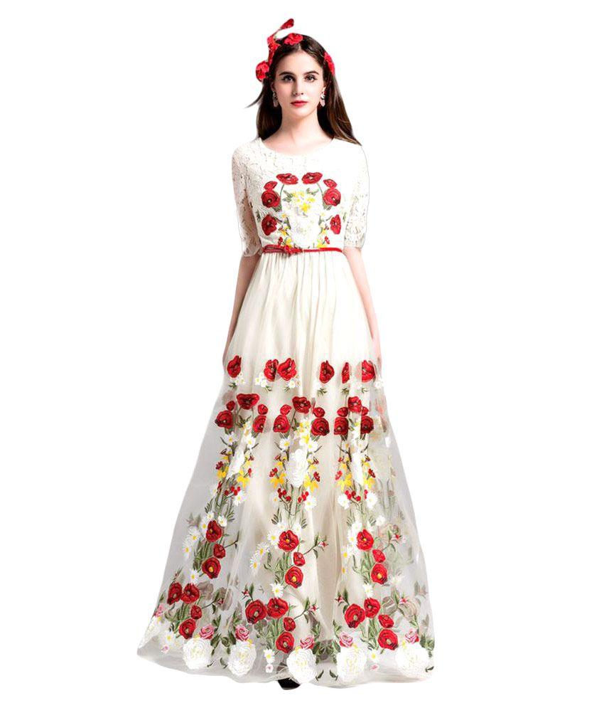Shree Ganesh Textilee Net Gown