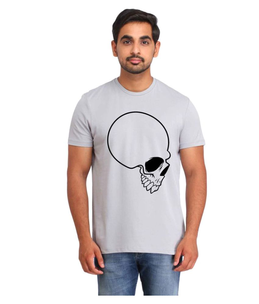 Snoby Grey Round T-Shirt