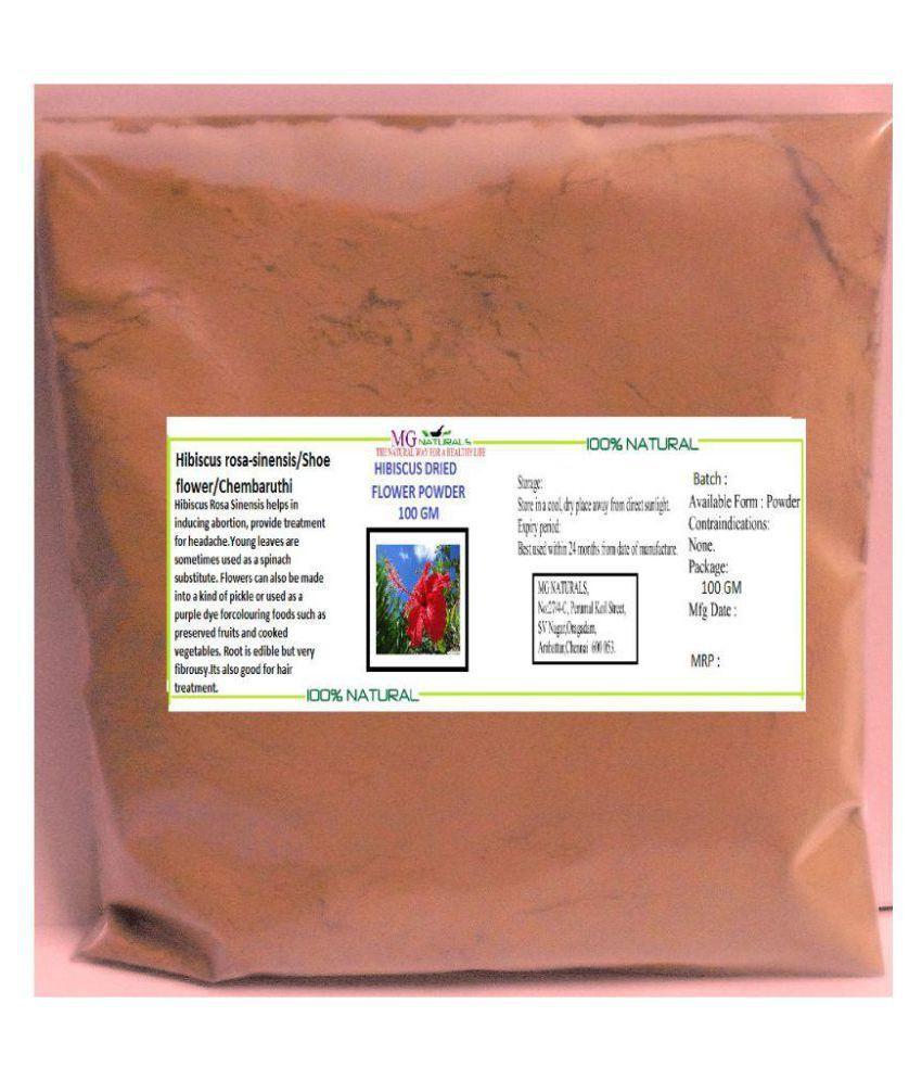 Mg Naturals Hibiscus Dried Flowers Powder Powder 100 Gm Buy Mg