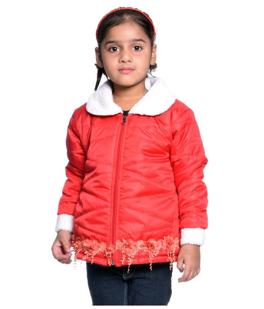 Come In Kids Red Polyester Jacket