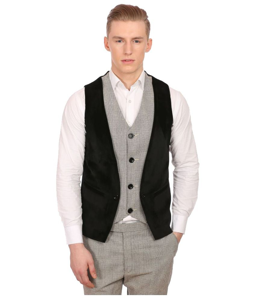 Wintage Multi Checks Party Waistcoats No