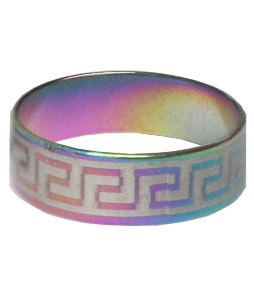 Mens Jewell Multicolor  Mood Fashion  Ring