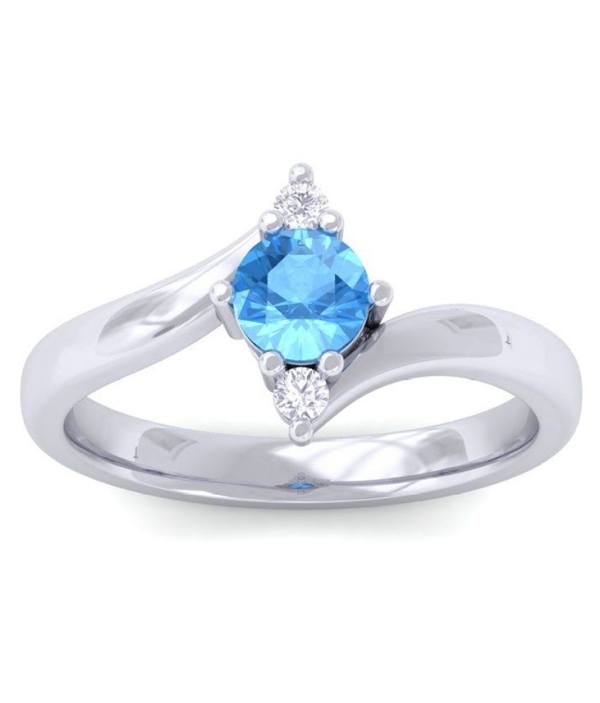 Novel Jewels 92.5 Silver Cubic zirconia Ring