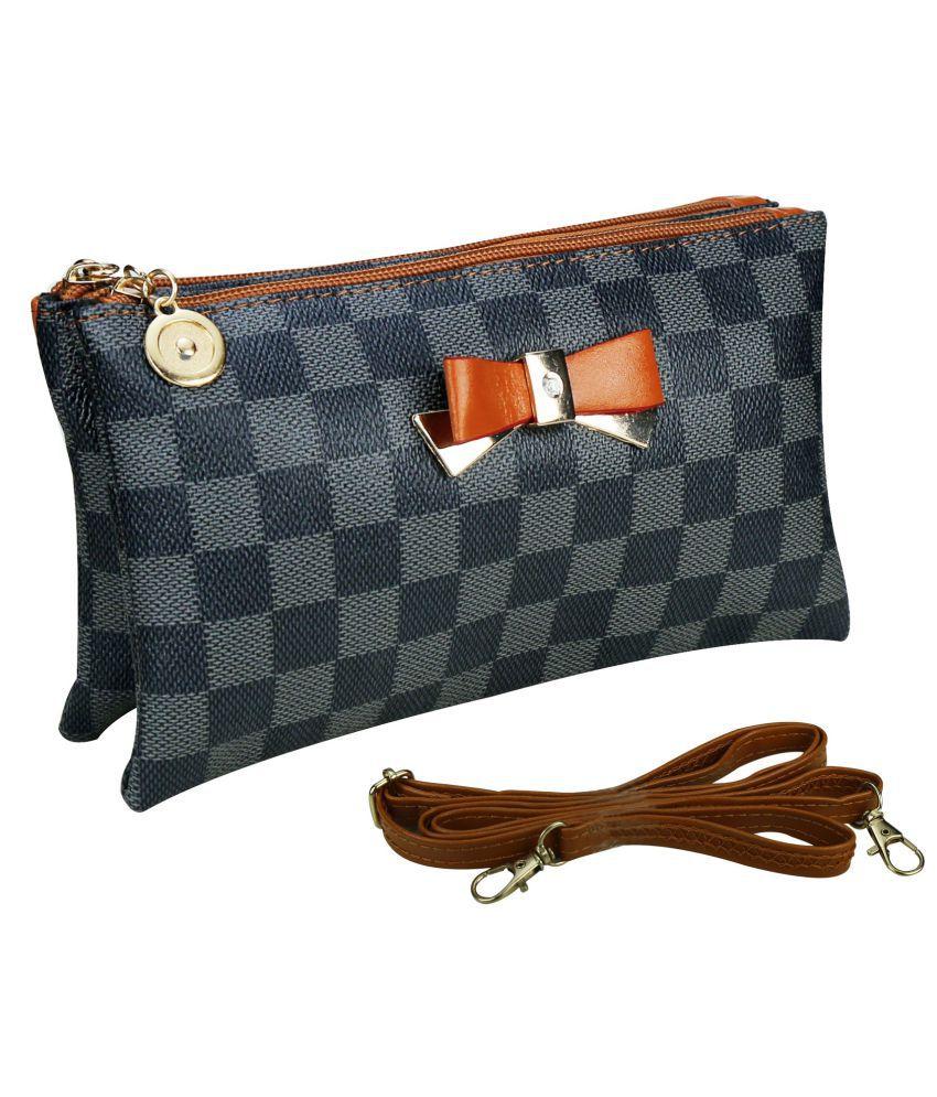 Quick Fashion Multi P.U. Sling Bag