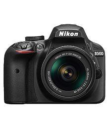 Nikon D3400 with AF-P DX NIKKOR 18mm-55mm f/3.5-5.6G VR Lens , Memory card and Bag