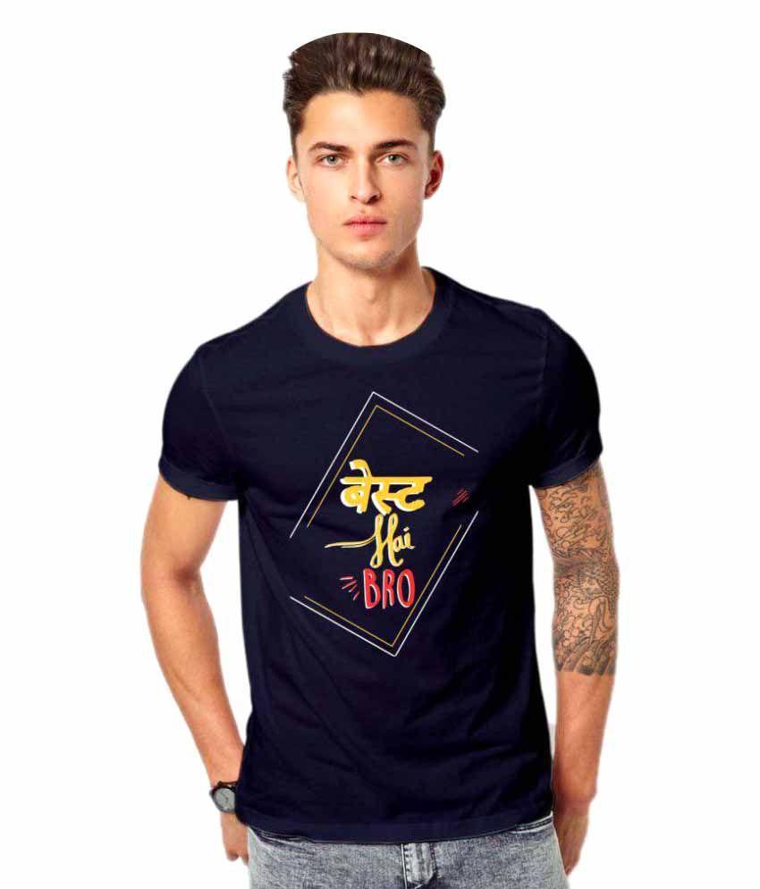Royal Nesher Navy Round T-Shirt