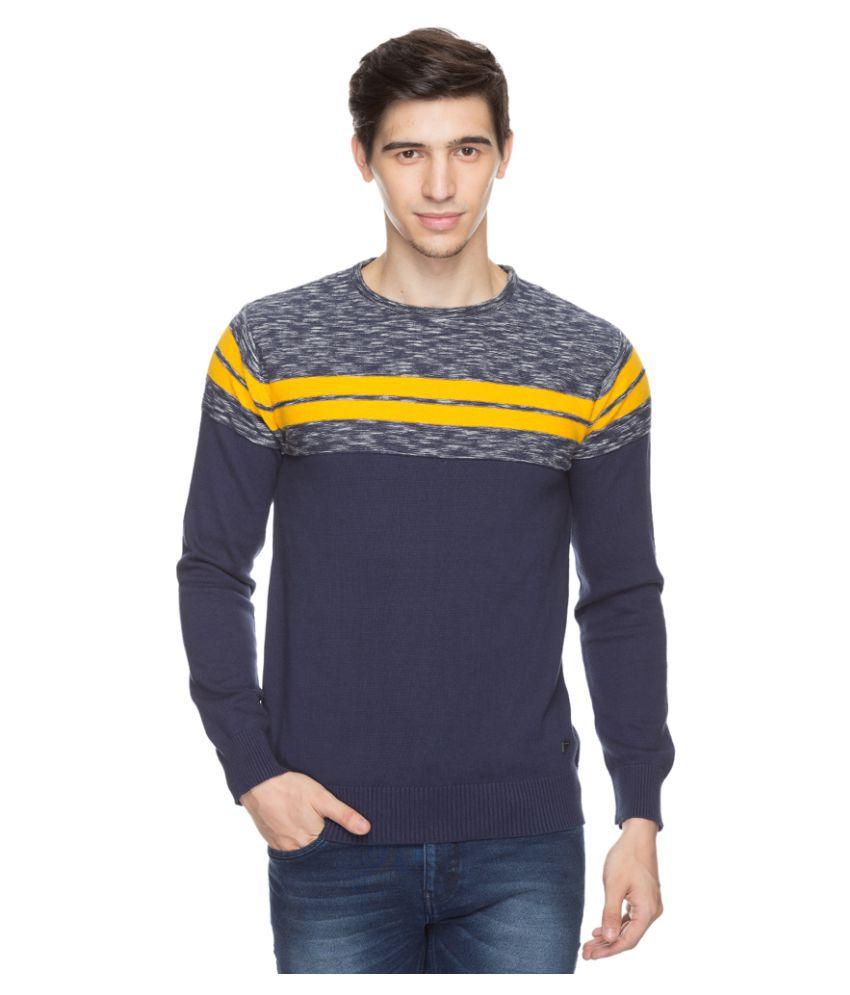 Status Quo Multi Round Neck Sweater