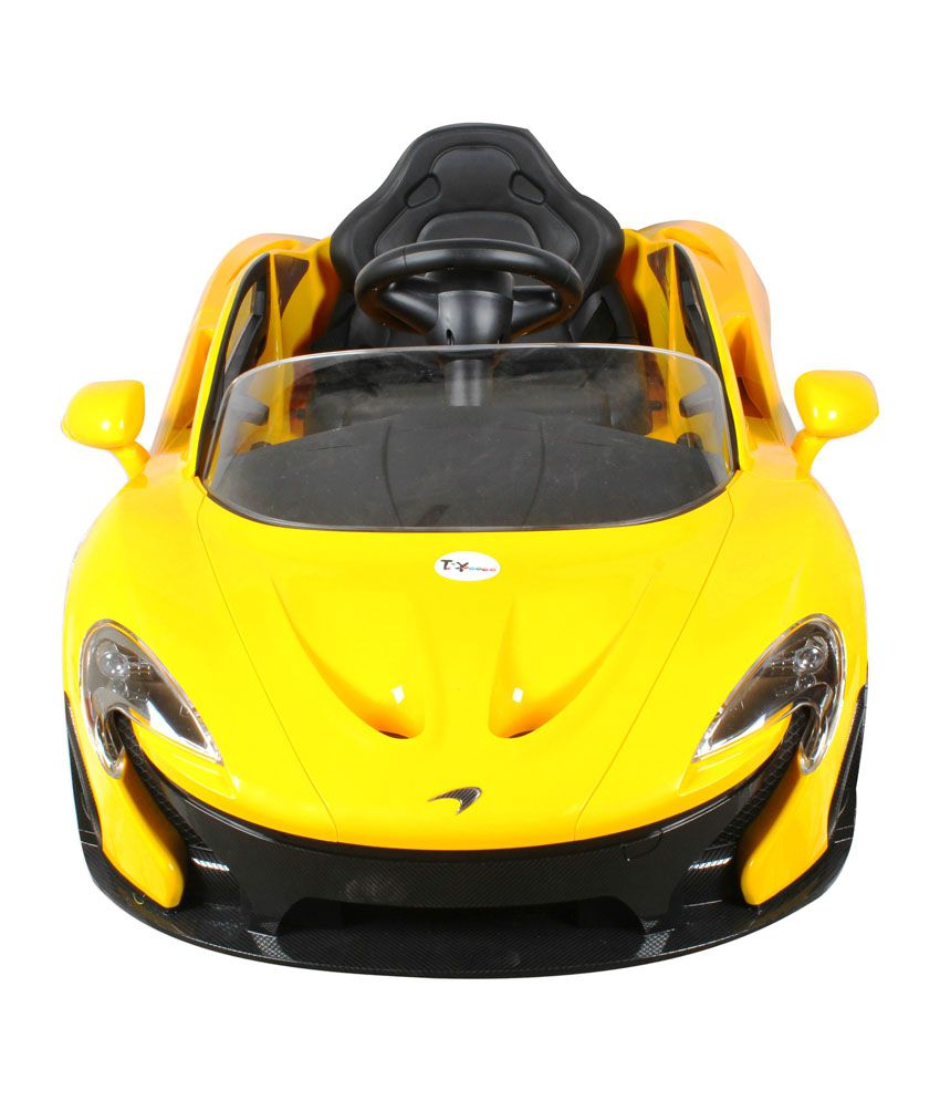 ... Toyhouse Officially Licensed McLaren P1 Rechargeable 12V Battery  Powered Sports Ride On Car With Remote Control ...
