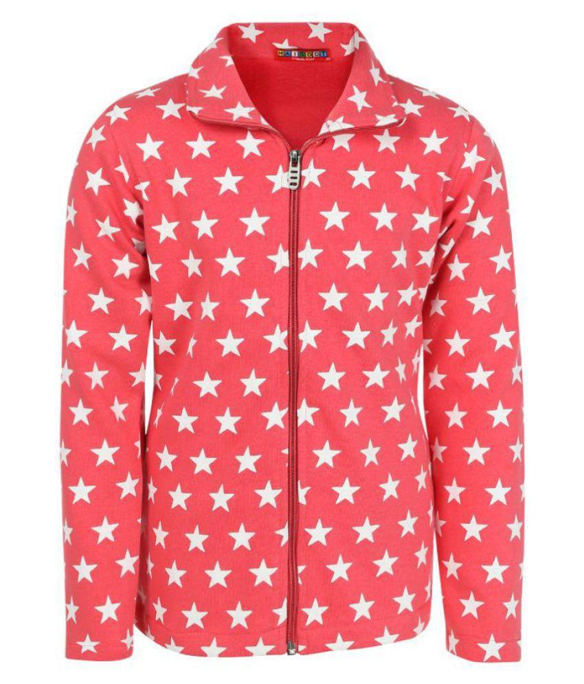 Haig-Dot Coral Sweatshirt