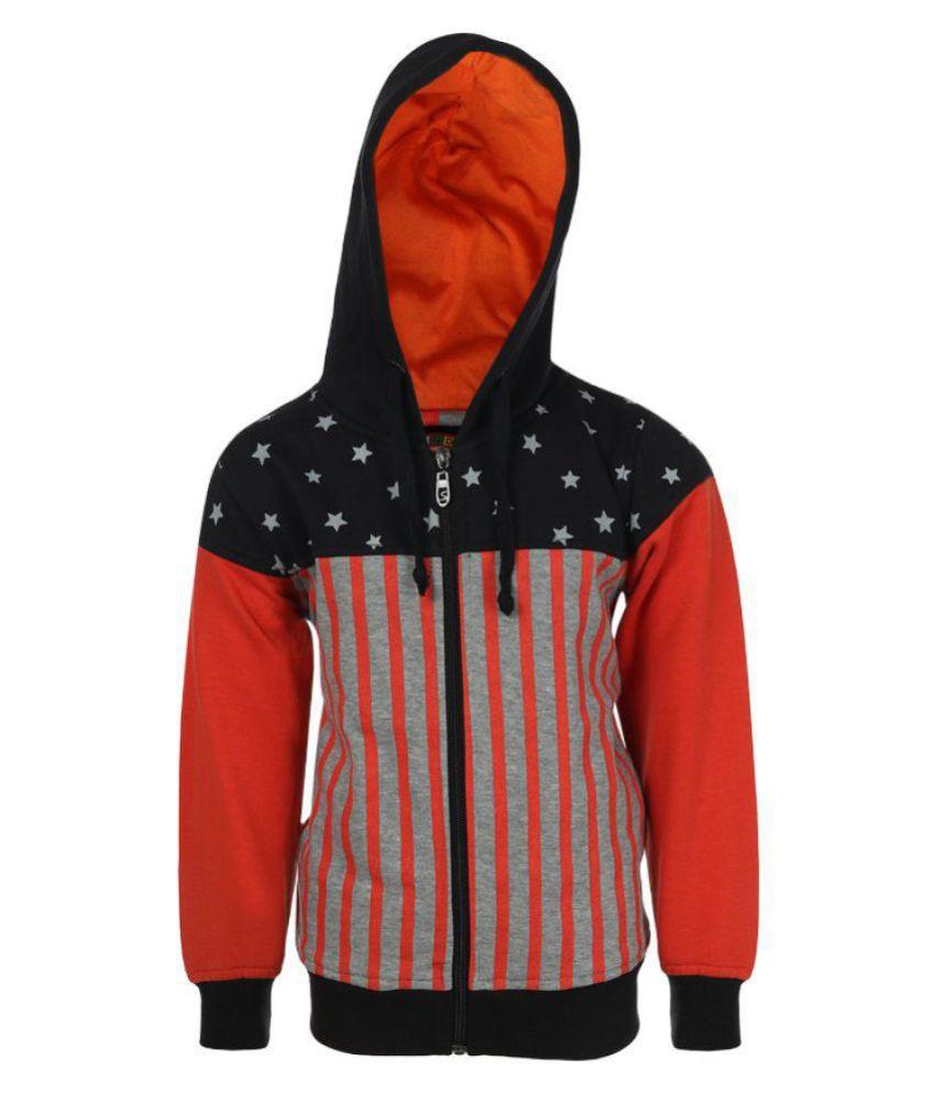 Haig-Dot Multicolour Front Open Sweatshirt