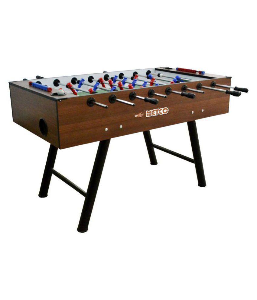 Metco Wooden Soccer Foosball Table