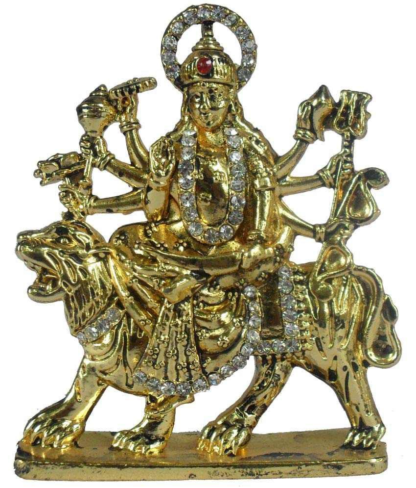 Sheela's Arts & Crafts Durga Other Idol