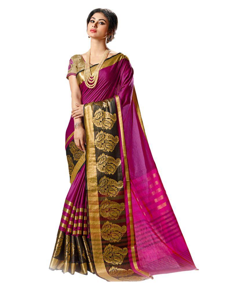 Swaron Multicoloured Cotton Saree