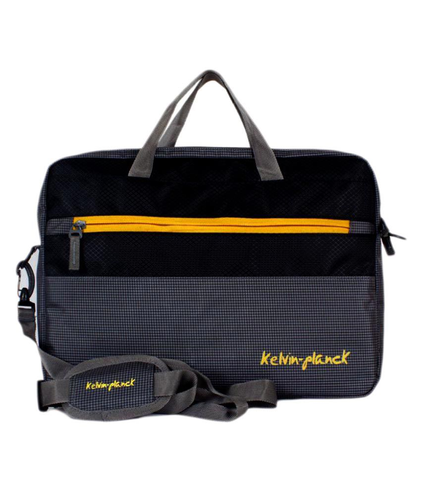 Kelvin Planck Black Laptop Cases