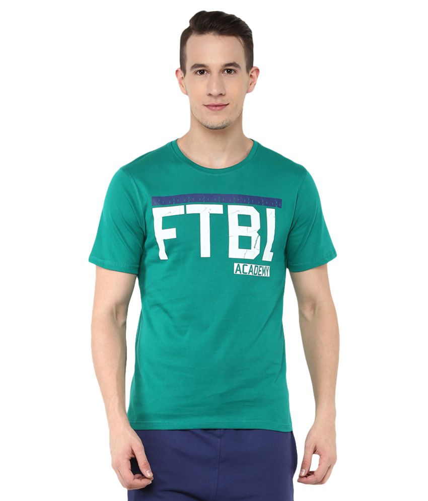 Umbro Green Cotton T-Shirt Single Pack