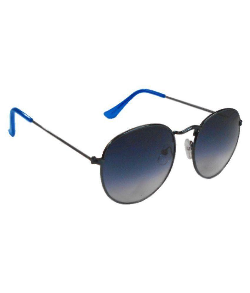 Ramisha Blue Round Sunglasses ( RE 1838 )