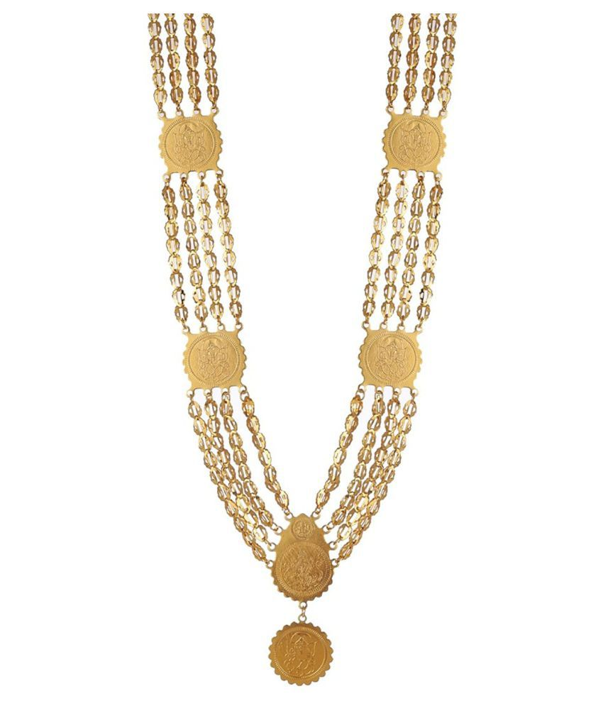 Awww Golden Necklace Set