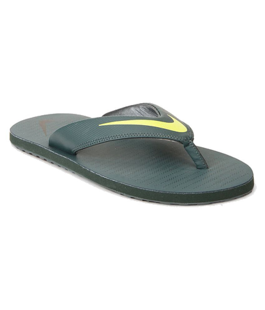 81e648b616b Nike Green Thong Flip Flop Price in India- Buy Nike Green Thong Flip Flop  Online at Snapdeal