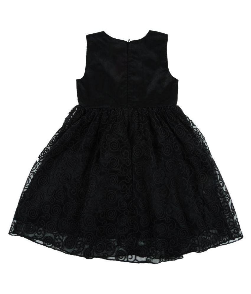 af0e2c612 KidsDew Black Net Frock - Buy KidsDew Black Net Frock Online at Low ...