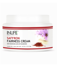 Inlife Saffron Fairness Cream (100 G) Pack