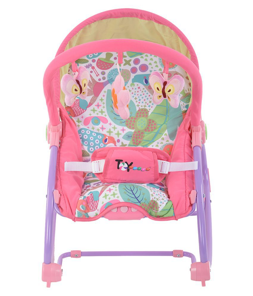 Toy House Pink Rocking Chair & Baby Bouncer