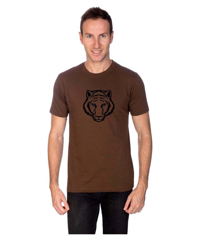 Artist Brown Round T-Shirt