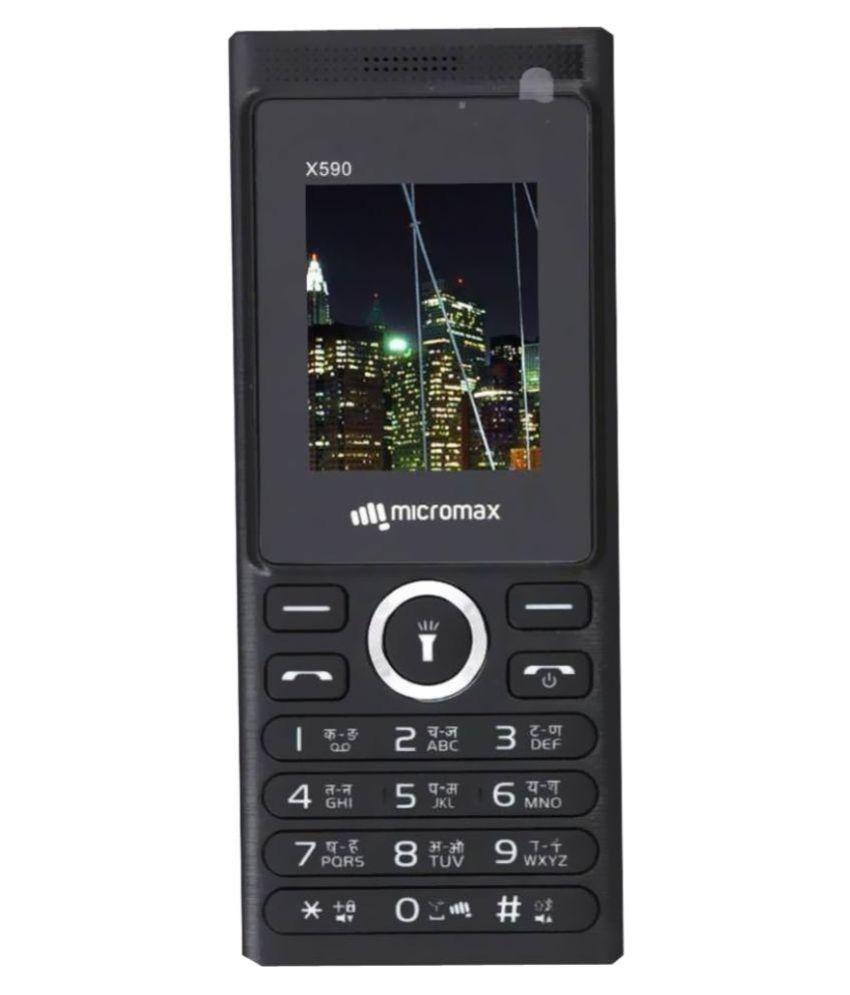 Micromax x590 4GB and Below Black