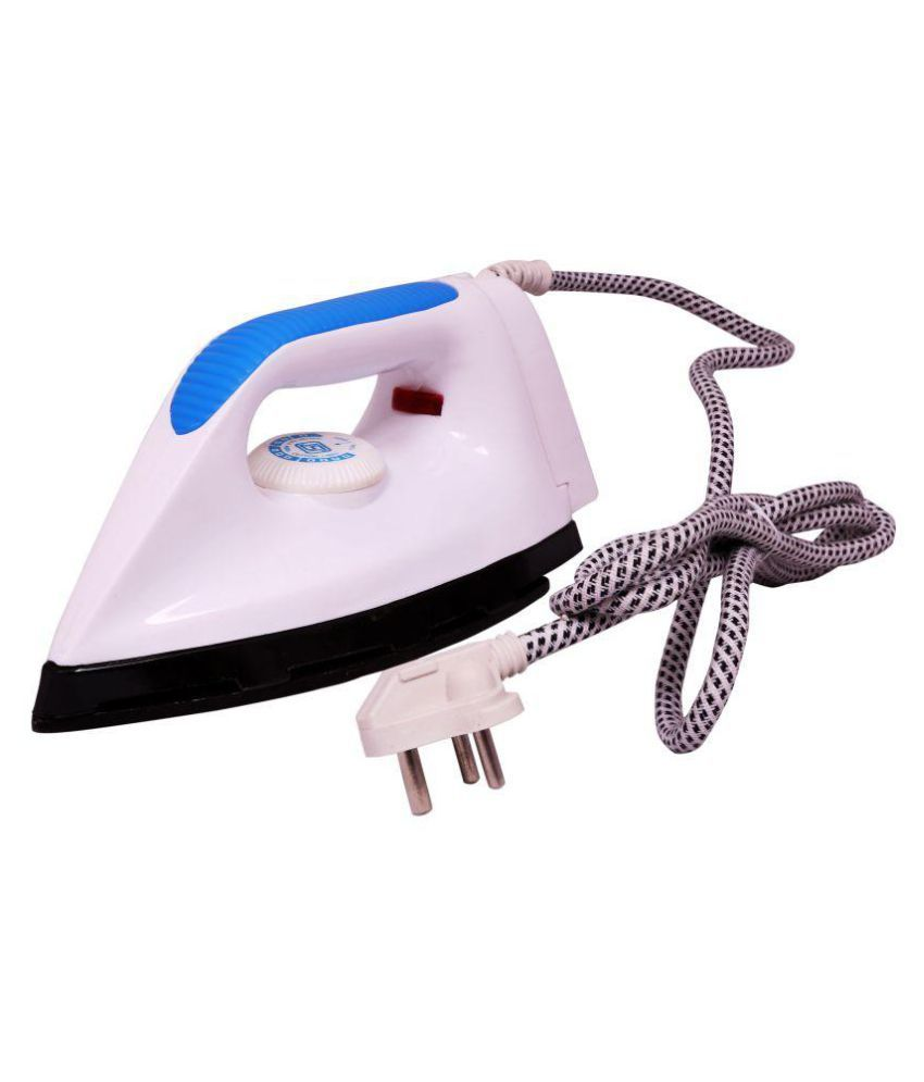 Black Cat Unitouch Dry Iron (White Blue)