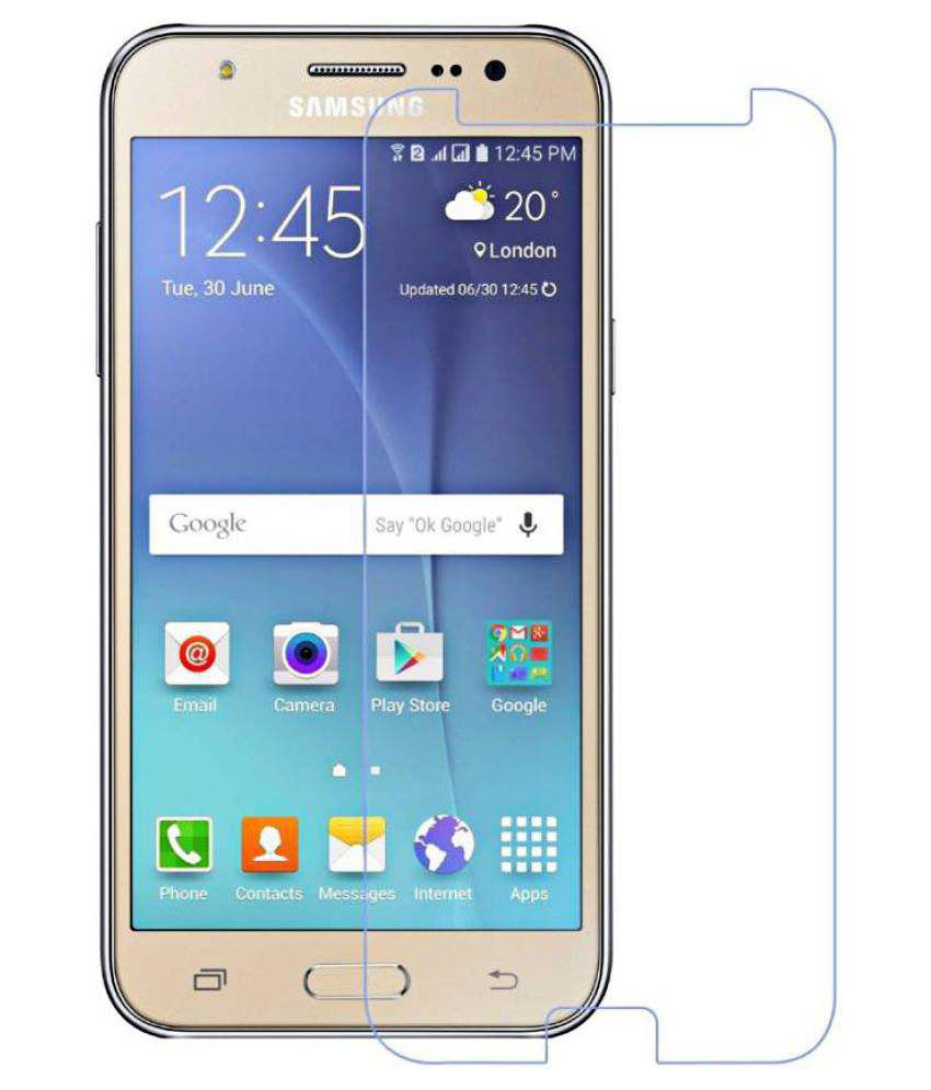 Samsung Galaxy On8 Tempered Glass Screen Guard By Kosher Traders