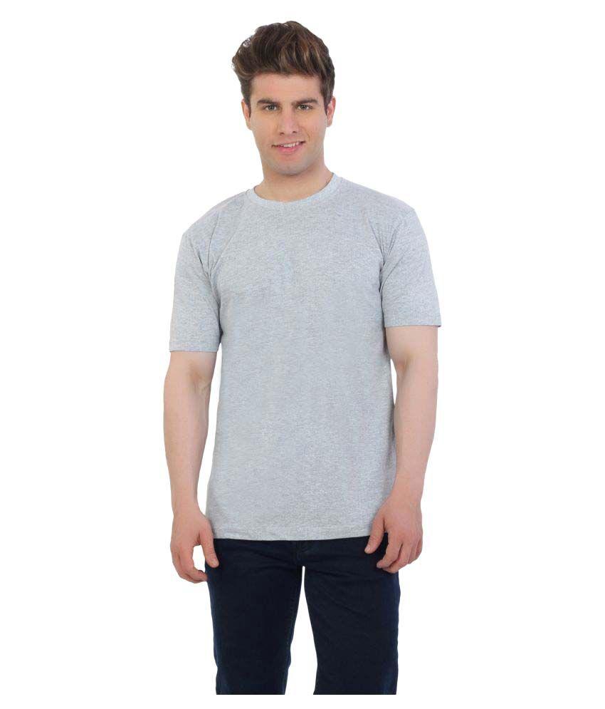 Eetee Grey Round T-Shirt