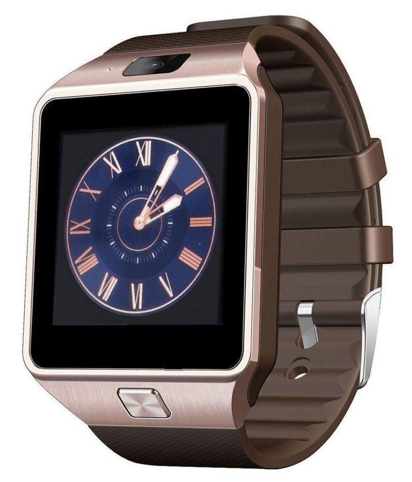 AKIRA Gold Smart Watches cloud n