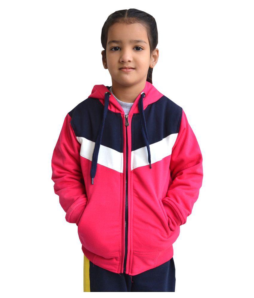 Shaun Pink Cotton Blend Sweatshirt