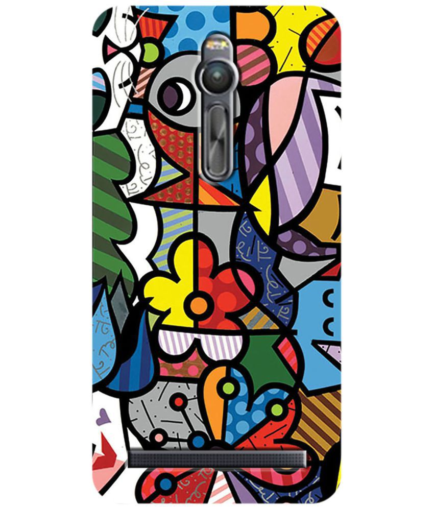 Asus Zenfone 2 Printed Cover By LOL