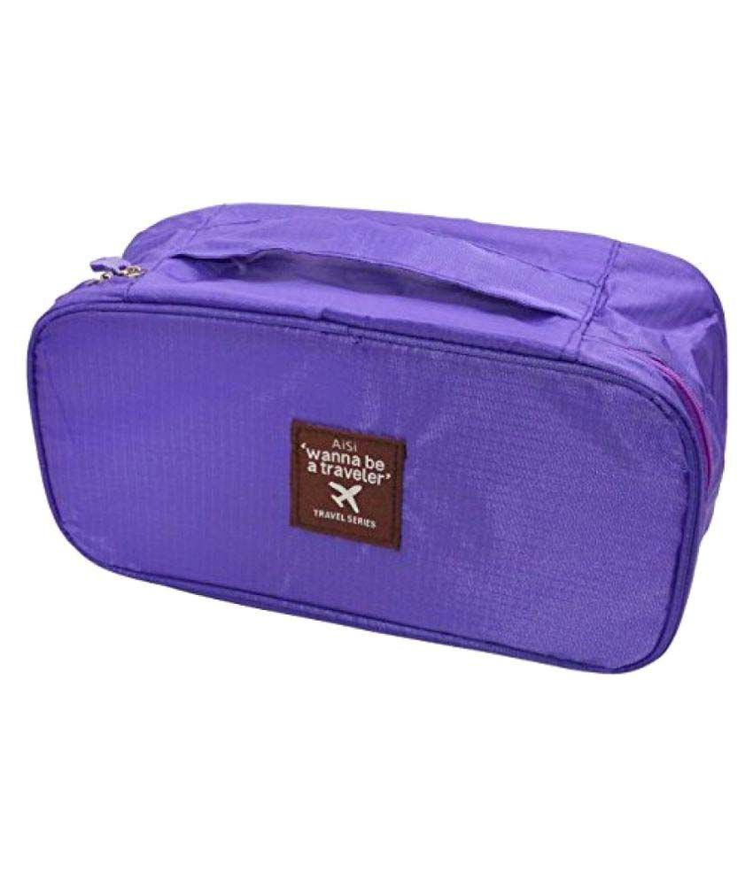 Inovera Purple Vanity Kit and pouches - 1 Pc