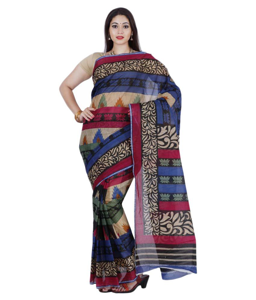 The Chennai Silks Multicoloured Cotton Saree
